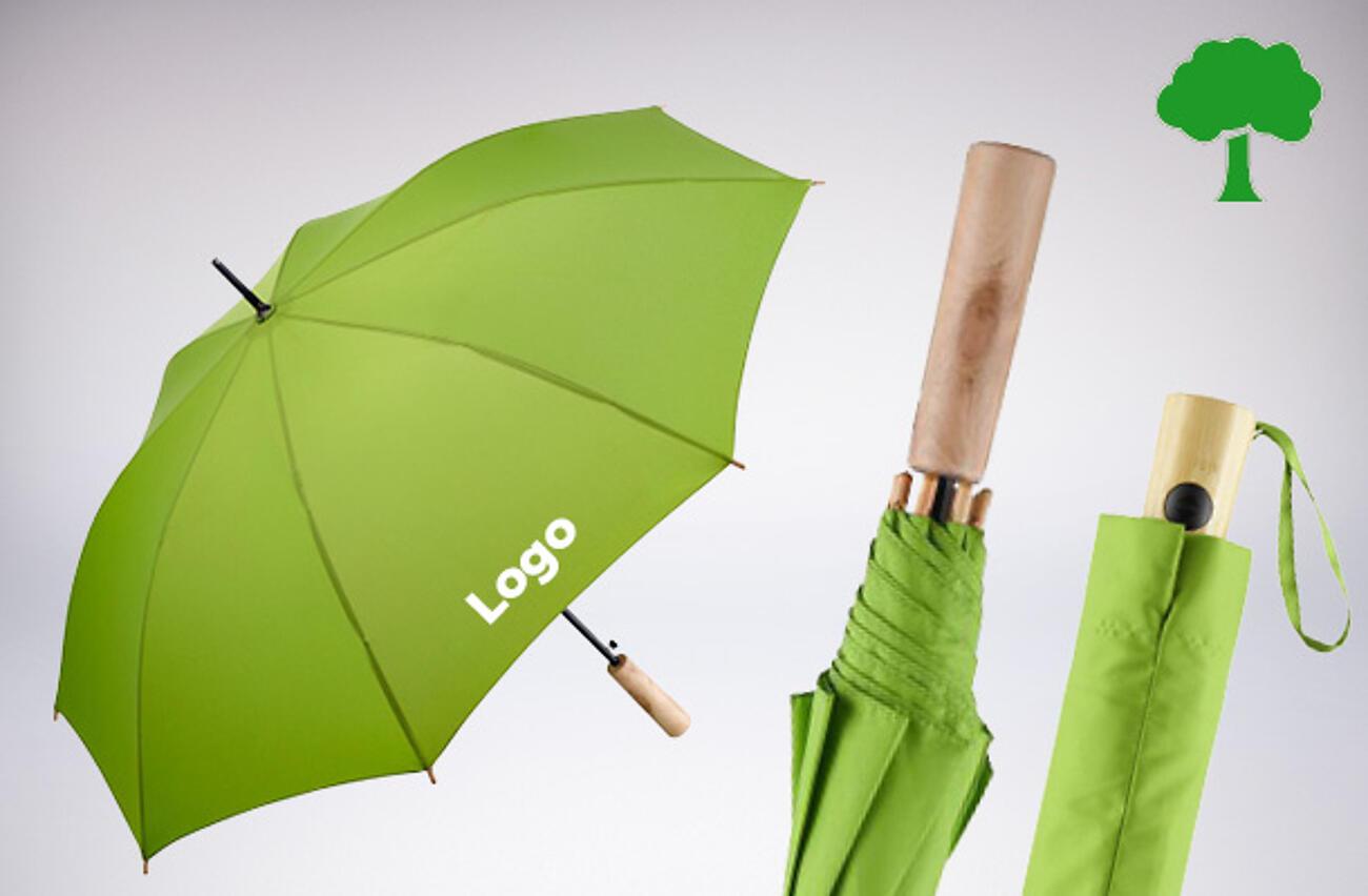 Ombrelli promozionali ecologici